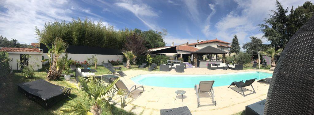 Le Jardin - Villa 444 route de San Bel 69210 Lentilly