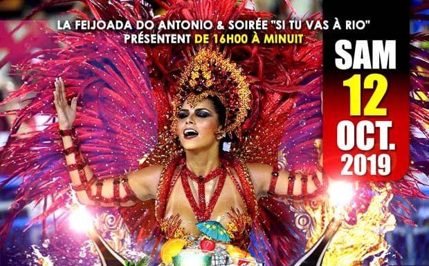 La Feijoada d'Antonio le 12 octobre de 19 à 23h30