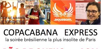 Copacabana Express Ai Que Bom 30 novembre SAND FABRIK Pantin