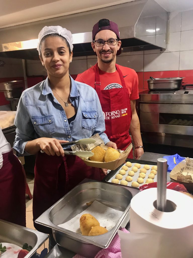 Camila Lima & Junior, criadora da Lanchonete Snack Brasil, Lyon Vaise