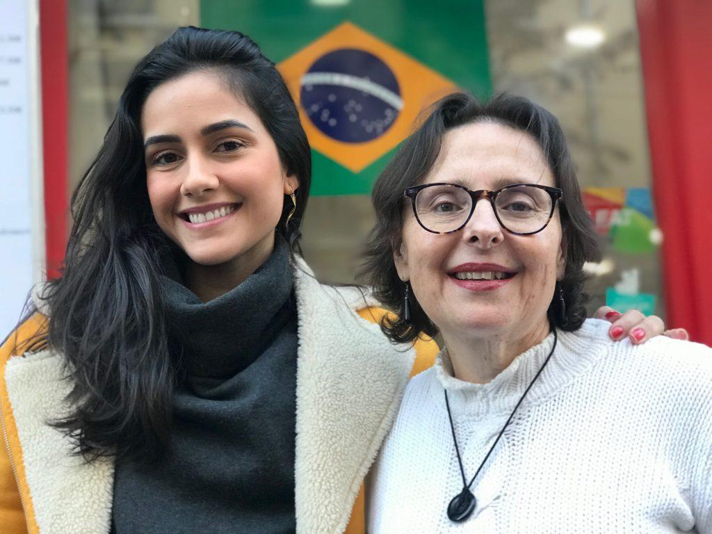 Milena Barazzotto & Marcia Hersant  participaram do evento e se deliciaram na degustação